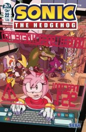 Sonic the Hedgehog #22 Original Cover