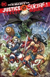 Justice League vs. Suicide Squad #1 Lost Variant