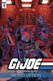 G.I. Joe: A Real American Hero - Silent Option #4 1:10 Incentive Variant