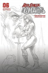 Red Sonja: Age of Chaos #6 1:40 Parrillo B&w Cover