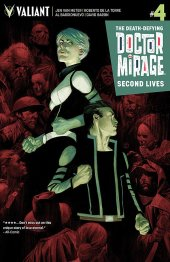 The Death-Defying Doctor Mirage: Second Lives #4 Cover C Tedesco