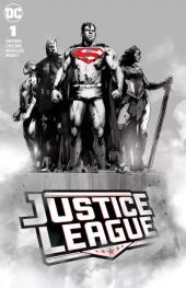 Justice League #1 Forbidden Planet Jock Monument Variant