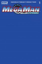 Mega Man: Fully Charged #1 Blue Blank Sketch Variant