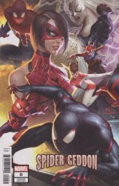 Spider-Geddon #0 InHyuk Lee Connecting Variant
