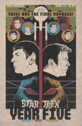Star Trek: Year Five #1 1:10 Incentive Variant