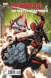 Deadpool & The Mercs for Money #3 Lim Variant