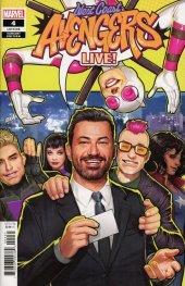 West Coast Avengers #4 Nakayama Jimmy Kimmel Variant
