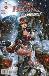 Van Helsing vs. The Werewolf #4 Cover B - Vitorino