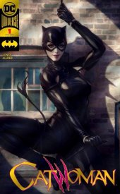 Catwoman #1 DC Boutique Exclusive Gold Foil Variant
