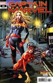 Captain Marvel #16 Panosian Spider-Woman Variant