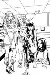Red Sonja & Vampirella Meet Betty & Veronica #11 1:7 Incentive