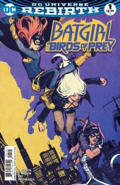 Batgirl and the Birds of Prey #1 Variant Edition