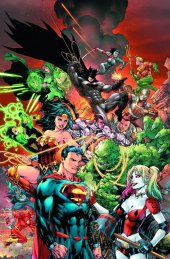 Justice League vs. Suicide Squad #1 Ed Benes Color Variant