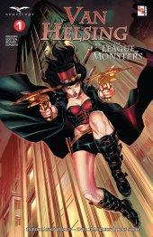 Van Helsing Vs. League Monster #1 Original Cover