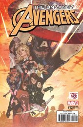 Uncanny Avengers #13 Captain America 75th Anniversary Variant