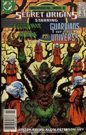 Secret Origins #23 Newsstand Edition
