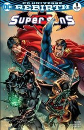 Super Sons #1 Most Good Hobby Exclusive Eric Basaldua Variant