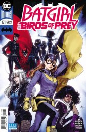 Batgirl and the Birds of Prey #17 Variant Edition