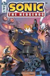 Sonic the Hedgehog #21 Cover B Peppers