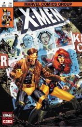X-Men #7 Unknown Comic Books C2E2 Variant Edition