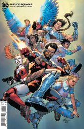 Suicide Squad #9 Variant Cover