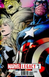 Marvel Legacy #1 Joe Quesada Lenticular Cover