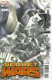 Secret Wars #1 Zing Variant