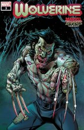 Wolverine #3 Raney Marvel Zombies Variant Edition