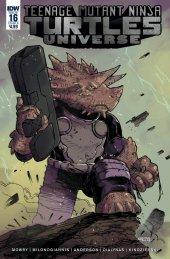 Teenage Mutant Ninja Turtles: Universe #16 Cover B Milonogiannis
