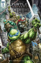 Teenage Mutant Ninja Turtles: Universe #1 Original Cover
