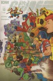 Transformers vs. G.I. Joe #13 Subscription Variant