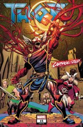 Thor #15 Mike McKone Carnage-ized Variant