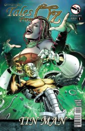Grimm Fairy Tales Presents Tales From Oz #1 Tin Man Cover B Spay