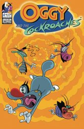 Oggy & The Cockroaches #4 Cover B Rankine