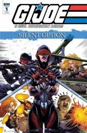 G.I. Joe: A Real American Hero - Silent Option #1 1:10 Incentive Variant