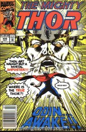 The Mighty Thor #449 Newsstand Edition