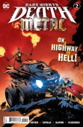 Dark Nights: Death Metal #2 2nd Printing