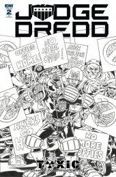 Judge Dredd: Toxic #2 1:10 Incentive Variant