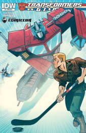 Transformers vs. G.I. Joe #6 Ottawa Comiccon exclusive