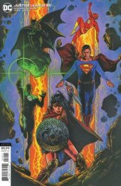 Justice League #50 Variant Cover