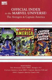 Avengers, Thor & Captain America: Official Index to the Marvel