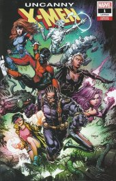 Uncanny X-Men #1 David Finch Variant Edition