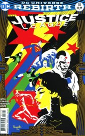 Justice League #10 Variant Edition