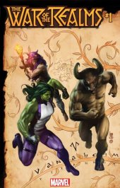 War of the Realms #1 Camuncoli Connecting Realm Variant