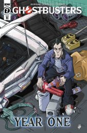 Ghostbusters: Year One #2 1:10 Incentive Variant