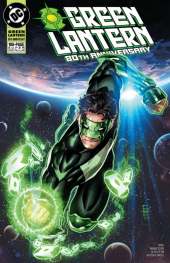 Green Lantern 80th Anniversary 100-Page Super Spectacular #1 1990s Variant Cover by Philip Tan