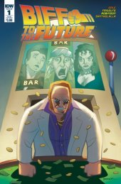 Back to the Future: Biff to the Future #1 Subscription Variant