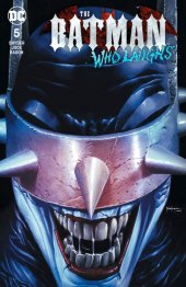 The Batman Who Laughs #5 Unknown Comic Books Exclusive Mico Suayan Trade Dress Variant