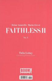 Faithless II #1 Cover B Lotay Erotic Variant