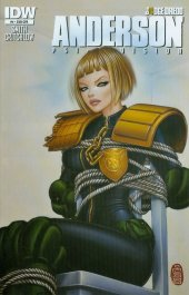 Judge Dredd: Anderson, Psi Division #4 Subscription Variant